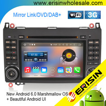 "Erisin ES6682B Car GPS 8-Core 7"" Android 6.0 Marshmallow OS Car Audio System GPS 3G Bluetooth"