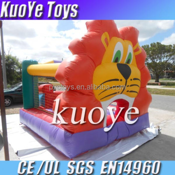 lion inflatable commercial trampoline bouncy trampoline china attraction commercial bouncer