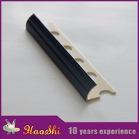 Poisonless and harmless building materials plastic marble and tiles edge trim