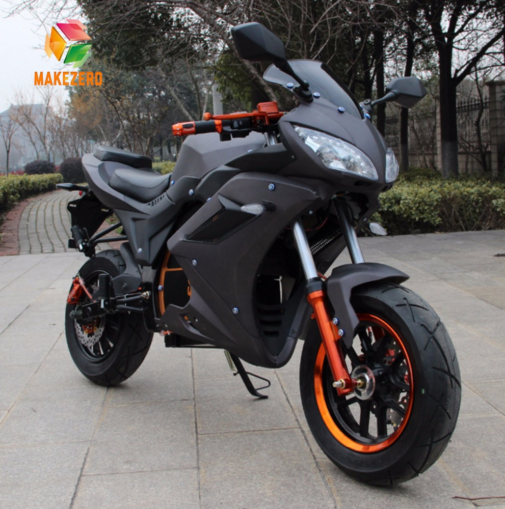2017 Latest fashional cool cheap adult electric racing motorcycle with 1500w 70v 20ah lithium battery