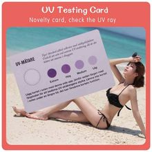 test the uv car membrane with uv test fragrance sample cards