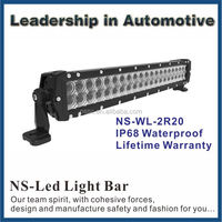 No Warm-up 120W Straight Light Bar,20inch LED 4x4 Cree Led Light Bar Off road, Auto Led Light Arch Bent