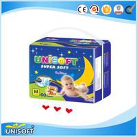 Competitive Price Baby Products Disposable Organic Cotton 2016 Baby Diaper Manufacturer From China
