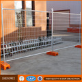 Free-standing temporary fencing builders fence