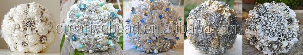 brooch for wedding bouquet