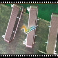 manufacture copper brazed plate heat exchanger