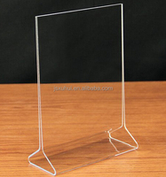 "5*7"" acrylic sign holder, Acrylic POS Display,Acrylic Menu Holder"