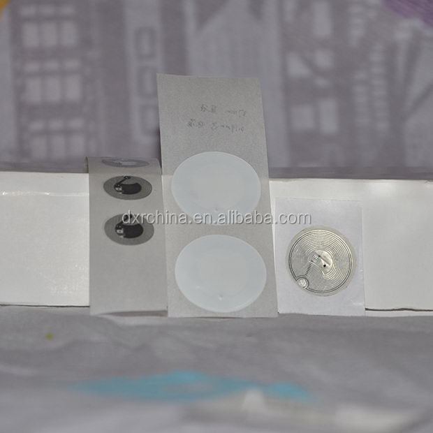 Top level new products rfid tag glass 13.56 mhz