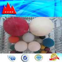 high Bouncing ball promotion toys rubber solid ball