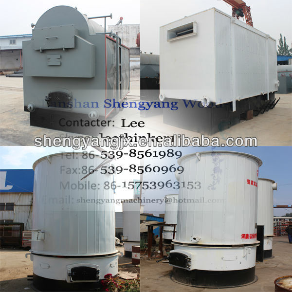 10tons industrial small fired steam chain gate stoker hot water wood coal burning boilers for sale,used wood boilers