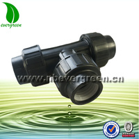 Plastic tee Connector, TEE Tube Joiner, Equal T Hose Pipe Fittings