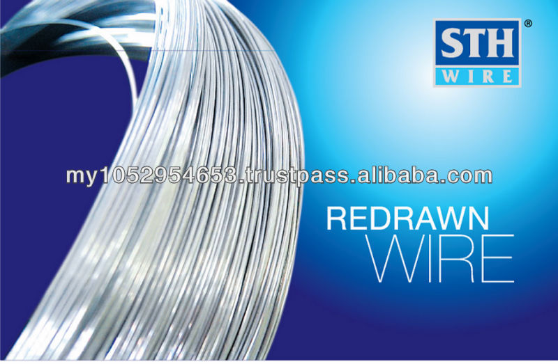Redrawn wire, high quality redrawn wire