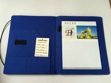 New design of A4 elastic folders, PVC and nylon material office folder