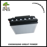 Top Quality 12V 9Ah Rechargeable Motorcycle Battery