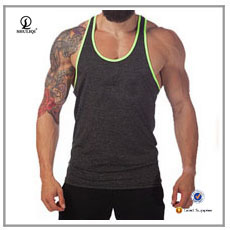 Dry fit mesh tank top polyester muscle singlet sublimated running singlet