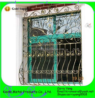 Beautiful Decorative Wrought Iron Window Grills Design Pictures