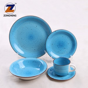 stoneware hand painted new price living art items name brand luxury latest ceramic crockery dinner set with popular design