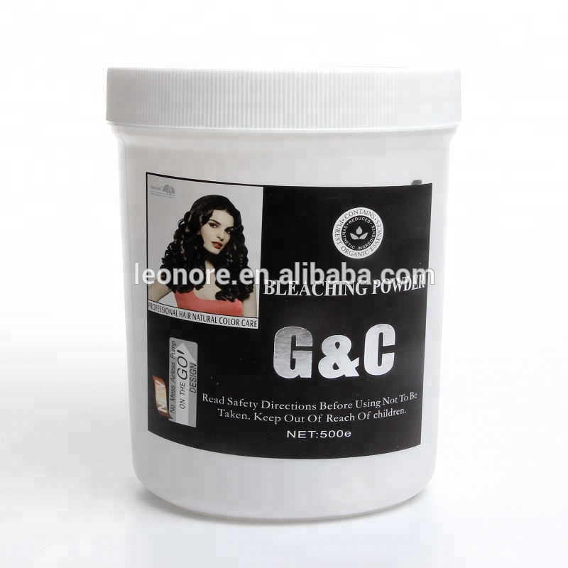 New Dust FreeWhite /Blue Hair Color Bleaching Powder