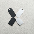 2.6mm Ultra Thin Programmable nrf51822 Bluetooth Push Button iBeacon