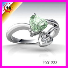 925 STERLING SILVER RHINESTONE DARRY RING FOR LOVER