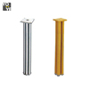 200mm Brushed Aluminum Table Legs Base