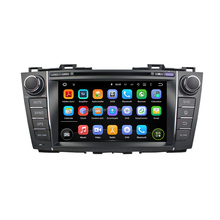 Professional car dvd Android7.1.2 quad core RK3188 capacitive screen car dvd GPS navigation for MAZDA 5/PREMACY
