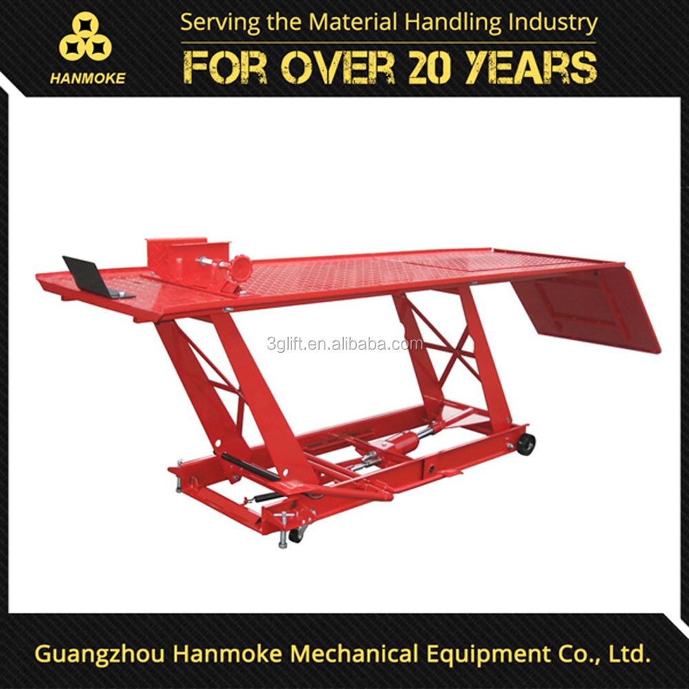good quality hydraulic car motorcycle lift jack lift motorcycle for repairing