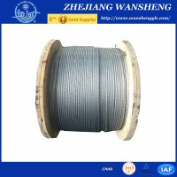 7*1.0mm fiber cable /galvanized Steel Wire Strand /steel wire