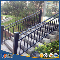 Luxurious Modern design Steel banister stair