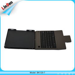 Professional OEM Ultra Slim Wireless Bluetooth Keyboard case For IPad Pro BK129-7