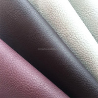 High quality Lichee pattern pvc upholstery leather for car seats HX1167