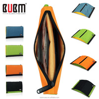BUBM nylon green colorful outdoor big trip storage bag Toiletry Travel Organizer Bag
