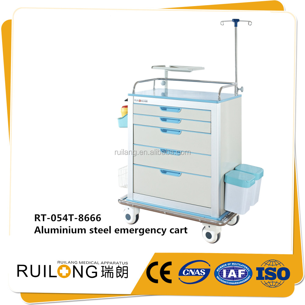 Patient Care Use Hospital Medicine Furniture Moving Trolleys