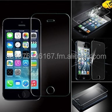 Factory Price Wholesale - premium tempered glass screen protector wholesale for iPhone 5/5S/5C