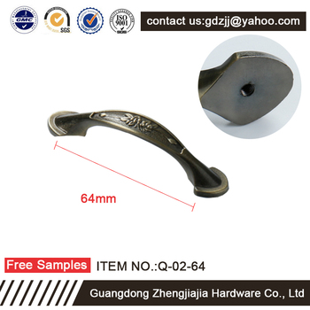 Hot sale European dresser knobs and handles and Chinese style antique furniture hardware