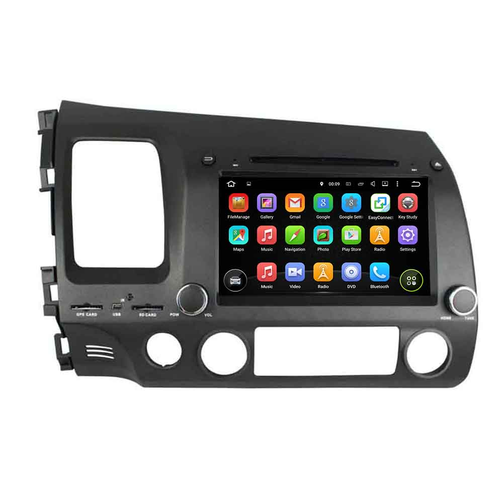 Android 6.0.1 multi touch screen Car radio for Honda CIVIC 2006