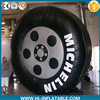 Custom made inflatable tire balloon/inflatable tire model for promotion