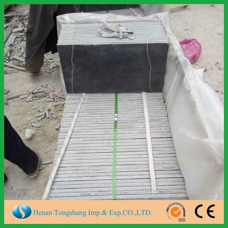 China nature blue limestone honed new style honed blue limestone tile paving stone with great price
