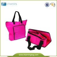 High quality non woven foldable bag,women folding non-woven bag grocery pacckaging bag