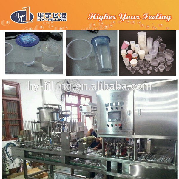 HY-Filling Food,Beverage Application and Automatic Grade Hummus Filling & Sealing Machine(cups)
