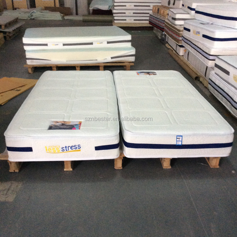 2015 Chinese Factory Thin Camping Mattress Single Bed