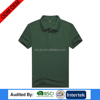 china ODM OEM supplier clothes factory custom polo design short sleeve t shirt 100% cotton