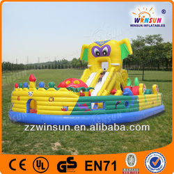 Lovely Popular Summer Playing TOP HOT inflatable bounce house