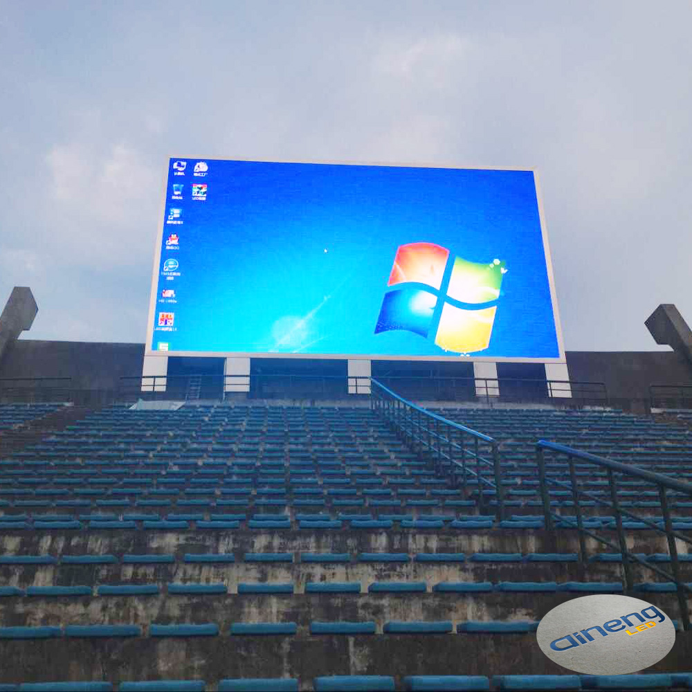 Factory price P10 Outdoor advertising led big display screen