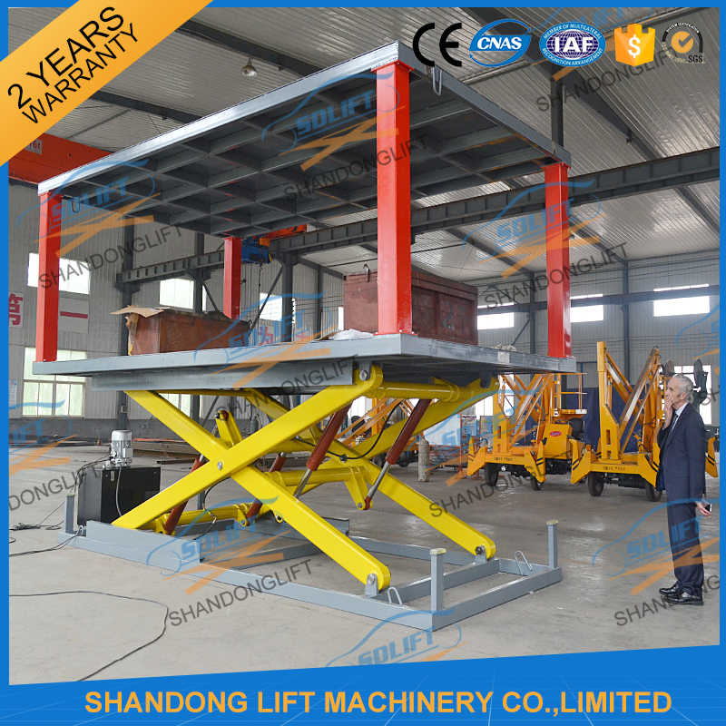 With 2 years Warranty Factory Price Hydraulic car Lifter