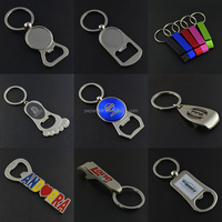Promotion Metal bottle opener ring With Custom Logo