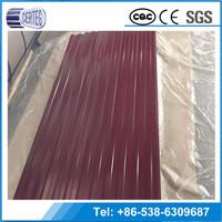 Best China Company Aluminum Zinc Coated Galvanized Iron Sheet Roofing