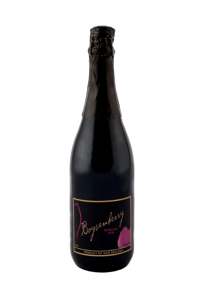 Boysenberry Sparkling Wine, New Zealand