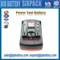 Rechargeable Li-ion lithium battery 18v 2.6Ah power tools batteries