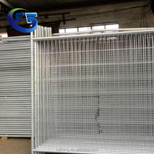 Wholesale Low Price High Quality Galvanized Steel Wire Temporary Fence Panel Boundry Fencing